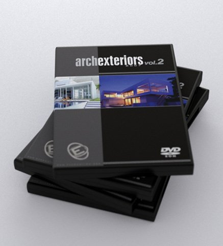 《精品室外创意建筑模型》(Evermotion Archexteriors Vol. 2)[ISO]