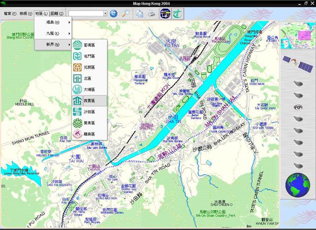 《香港详细地图》(map hong kong 2004)[iso]