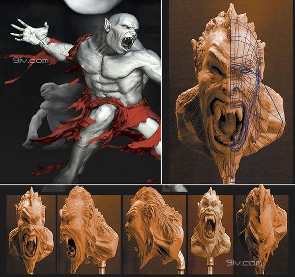 3D美术资源/视频教程 [电驴下载]--Maya 超真实人物角色教程  2